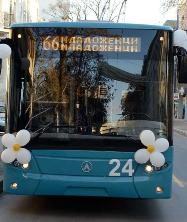 Сватбен тролей кръстосва из Пазарджик в събота